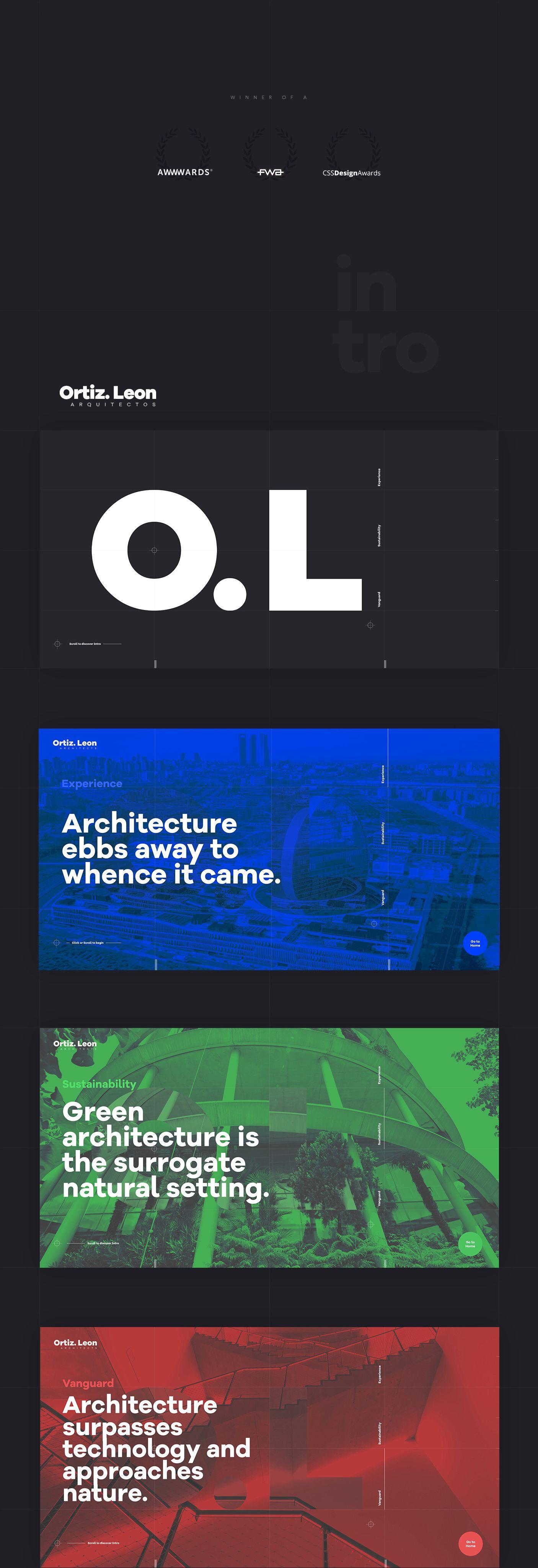 10 Best Website Inspiration Of January 2017 Web Design Modern Web Design Web Design Inspiration