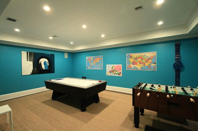 Basement Game Room Paint Colors Game Room Basement Video Game Rooms Game Room