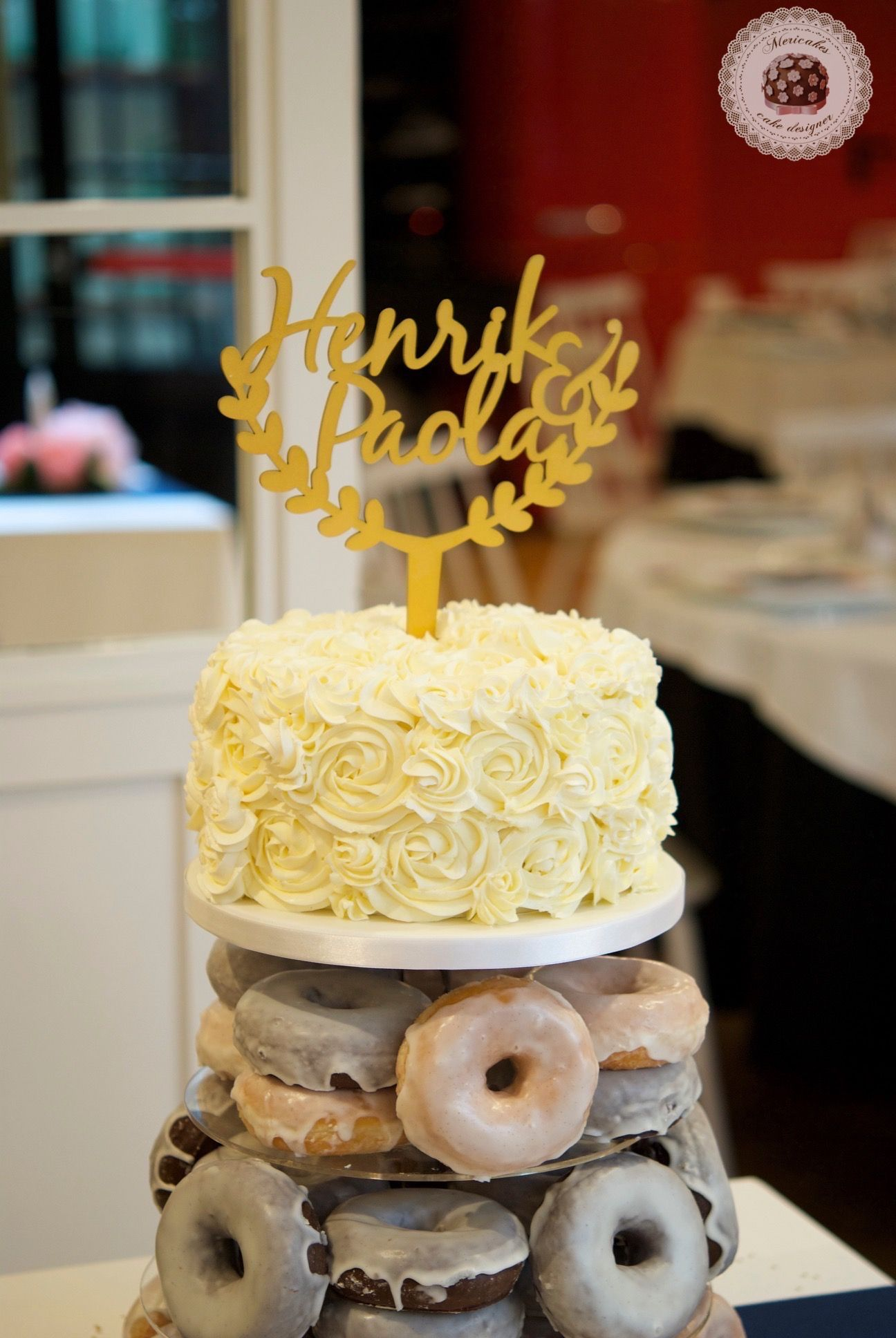 Wedding cake, tarta de boda, spain wedding, doughnuts, doughnuts ...