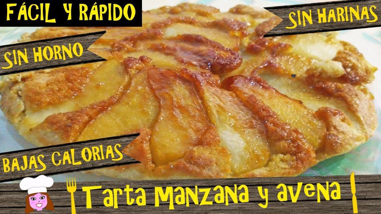 Tarta De Manzana Y Avena Sin Horno Sin Lactosa Bajas Calorias Lista En 15 Rápido Fácil Y Barato Youtube Food Videos Desserts Food Humor Apple Oatmeal