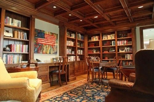 Home School Ideas - traditional home office by Hull Historical