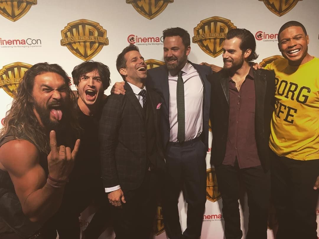 Away From Their Suits And Capes We Get A Great Look At Who They Are In Real Life Justice League Cast Justice League Jason Momoa