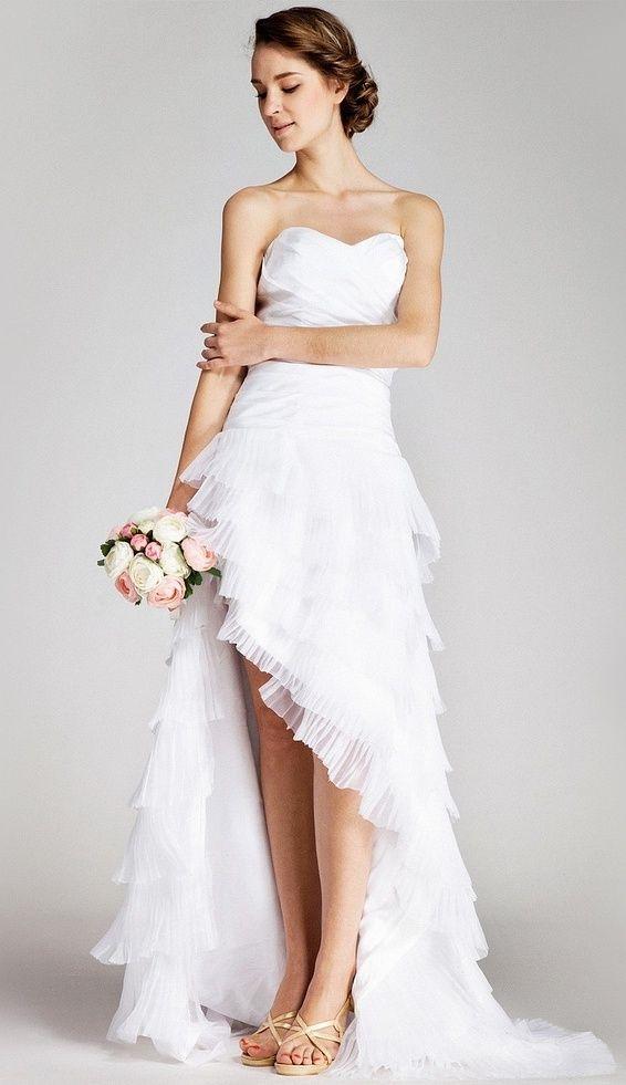 Strandhochzeitskleider-11 | Hochzeit | Pinterest ...