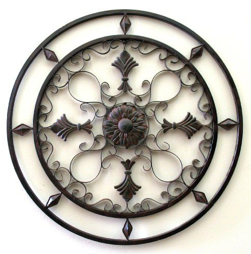 Round Wrought Iron Wall Decor Fascinating Find Latest The Beach Cottage With Palm Trees Metal Wall Art Inspiration