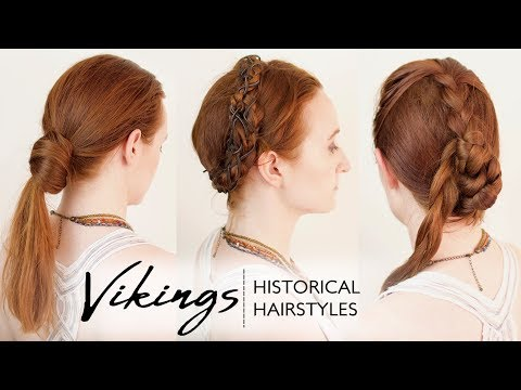 Historical Hairstyles The Real Hairstyles Worn By Viking Women Youtube Historical Hairstyles Viking Hair Womens Hairstyles