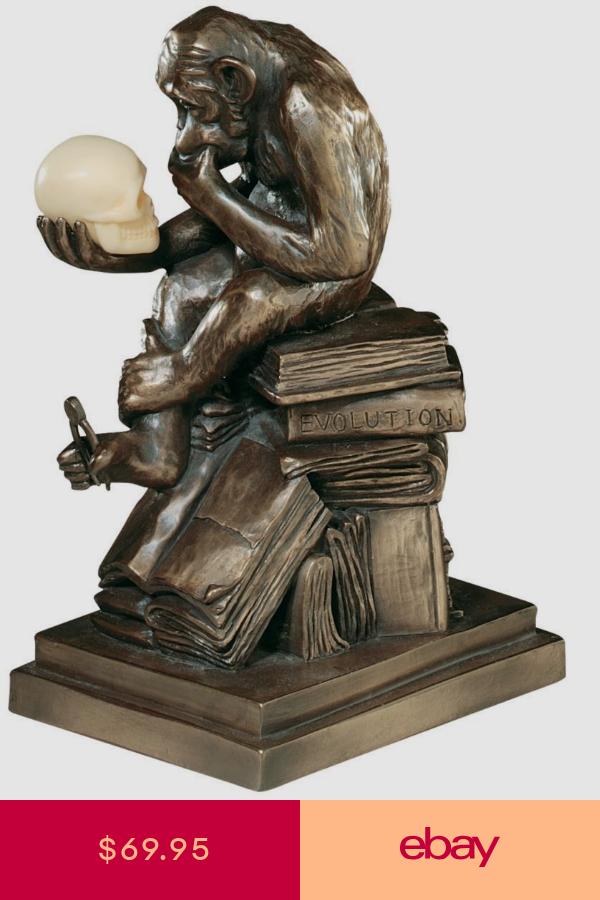 European Replica Darwin S Theory Of Evolution Monkey The Thinker Ape Statue Rodin The Thinker Darwin S Theory Of Evolution Sculpture
