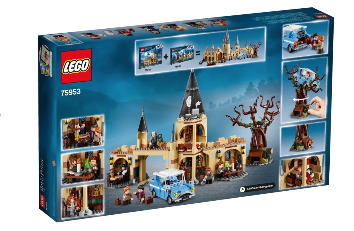 Hogwarts Whomping Willow Harry Potter Lego In 2021 Lego Hogwarts Lego Hogwarts
