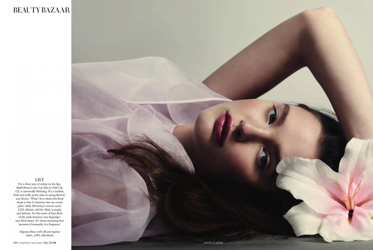 Harper's Bazaar UK : All In Bloom