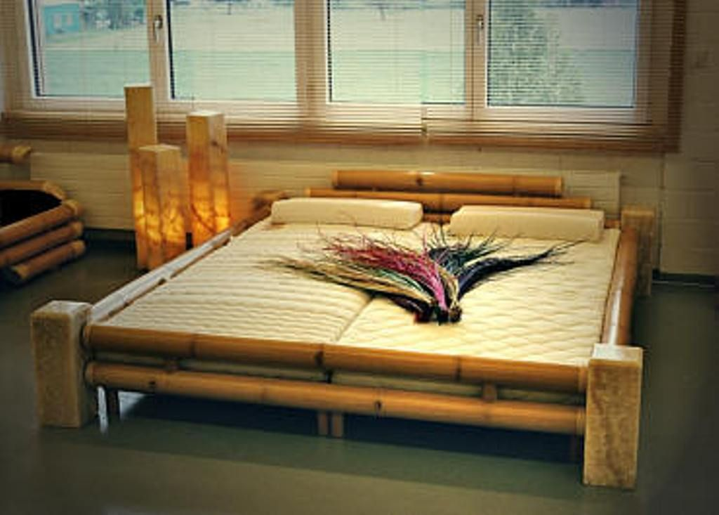 Bamboo Bed Frame Queen Idea Natural Bamboo Bed Frame Price