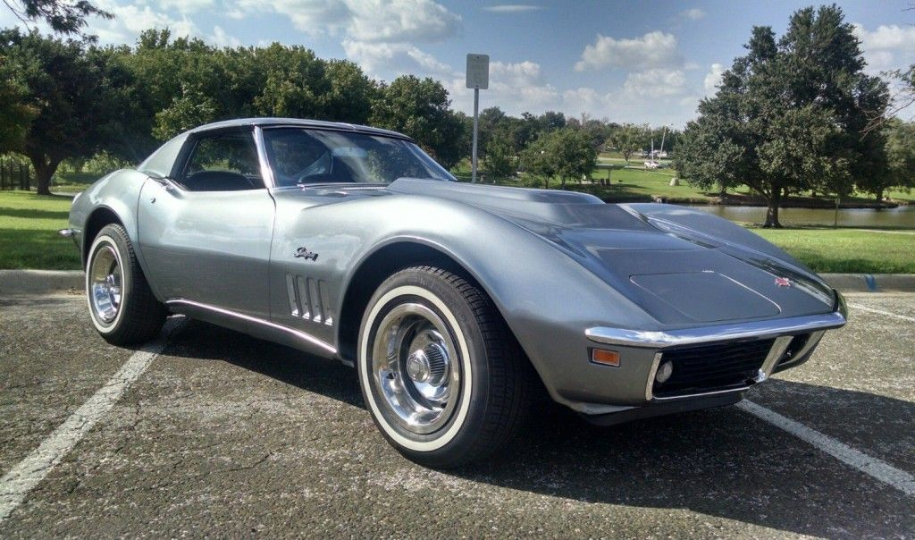 L46 4 Speed 1969 Chevrolet Corvette Stingray Chevrolet Corvette