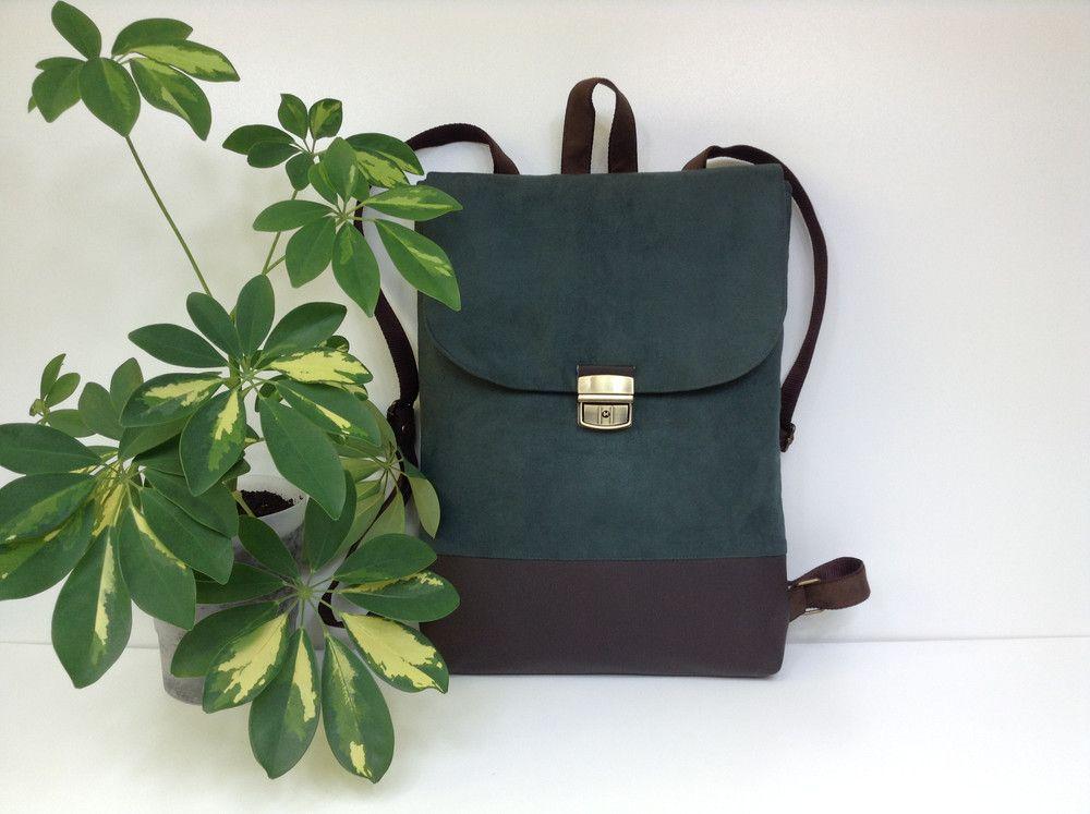 Plecak Na Laptopa Unisex Fabrykawis Plecaki Vegan Leather Backpack Rucksack Bags Leather Backpack
