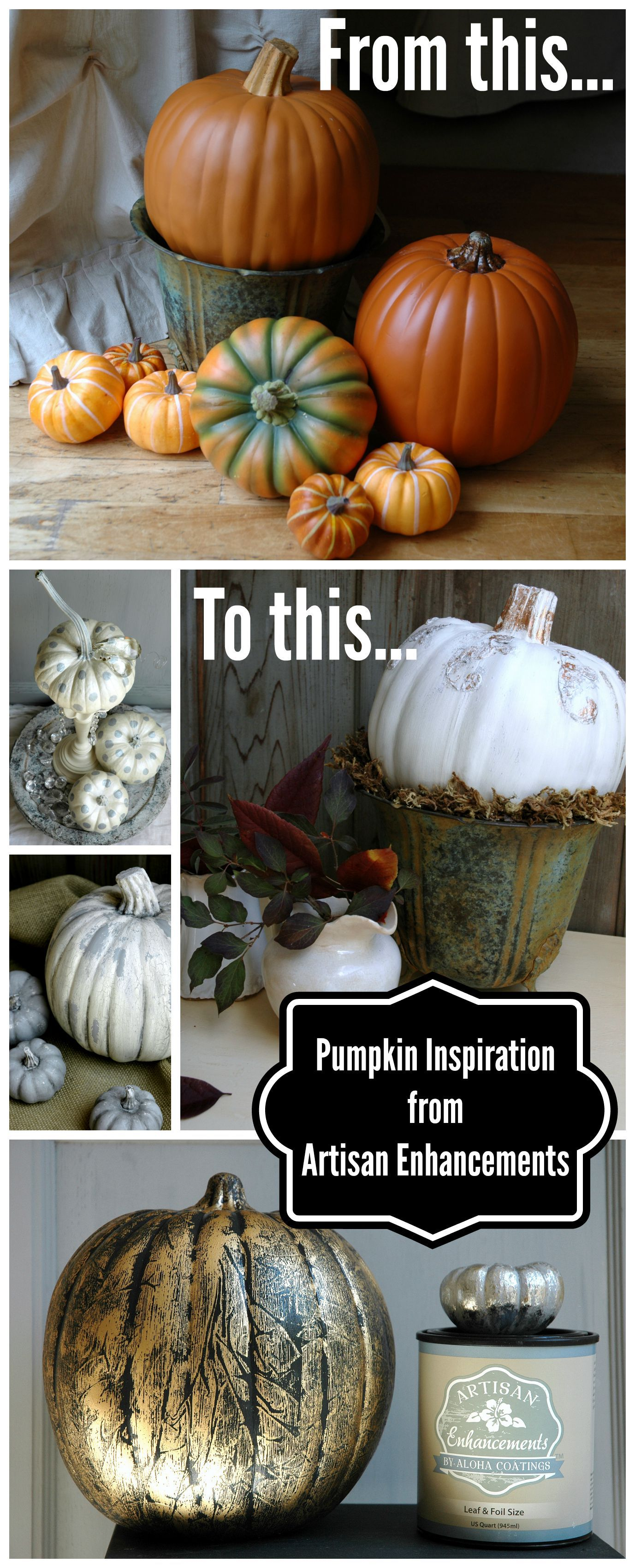How to store pumpkins - Jazz Up Some Plain Craft Store Pumpkins With User Friendly Art Products From Artisan Enhancements