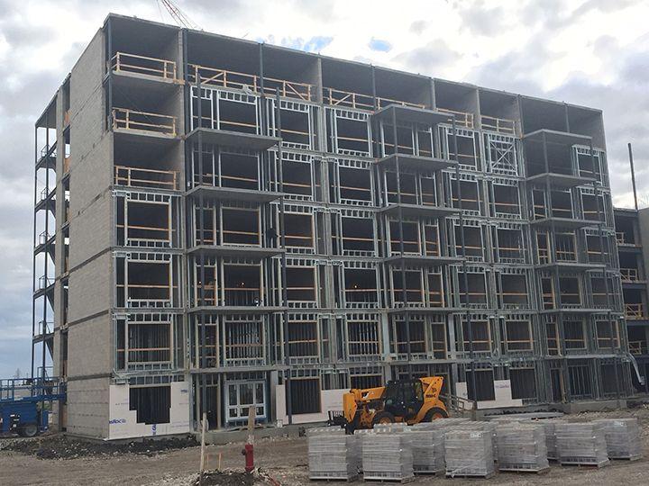 bailey metal products prairie landing apartment - Concrete Apartment 2016