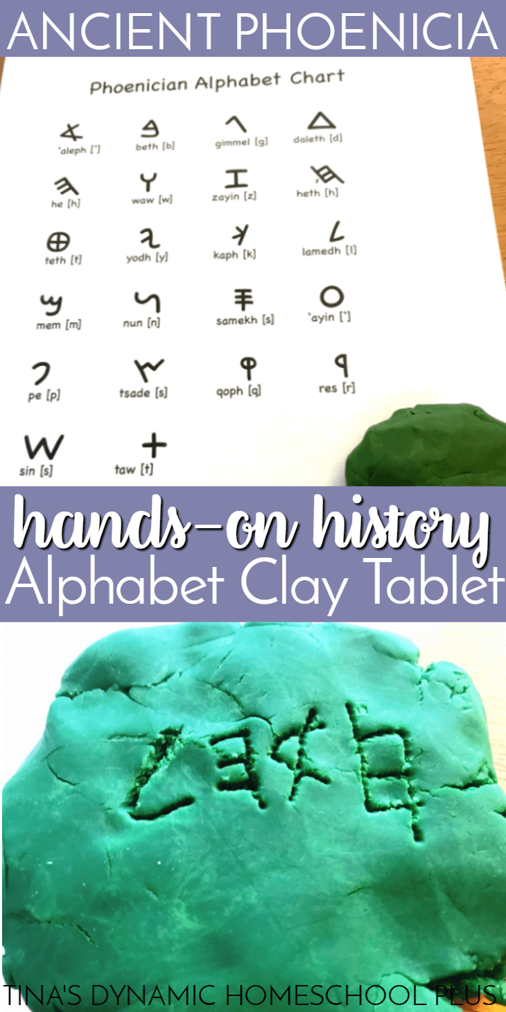 Wondrous Hands On Ancient Phoenicia Alphabet Clay Tablet Craft Home Interior And Landscaping Transignezvosmurscom