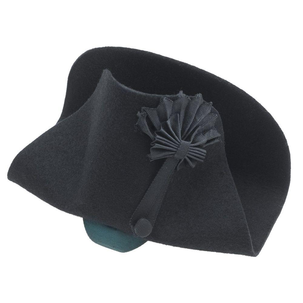 Bicorn Hat: Nelson's Bicorn Hat Replica. An 1803 Customer Ledgers Show