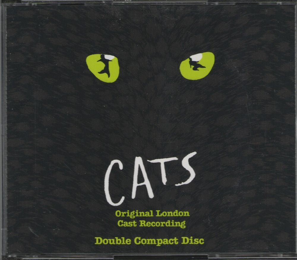 Cats Original London Cast Recording Andrew Lloyd Webber 2cd S 1981 Geffen It Cast The Originals Lloyd