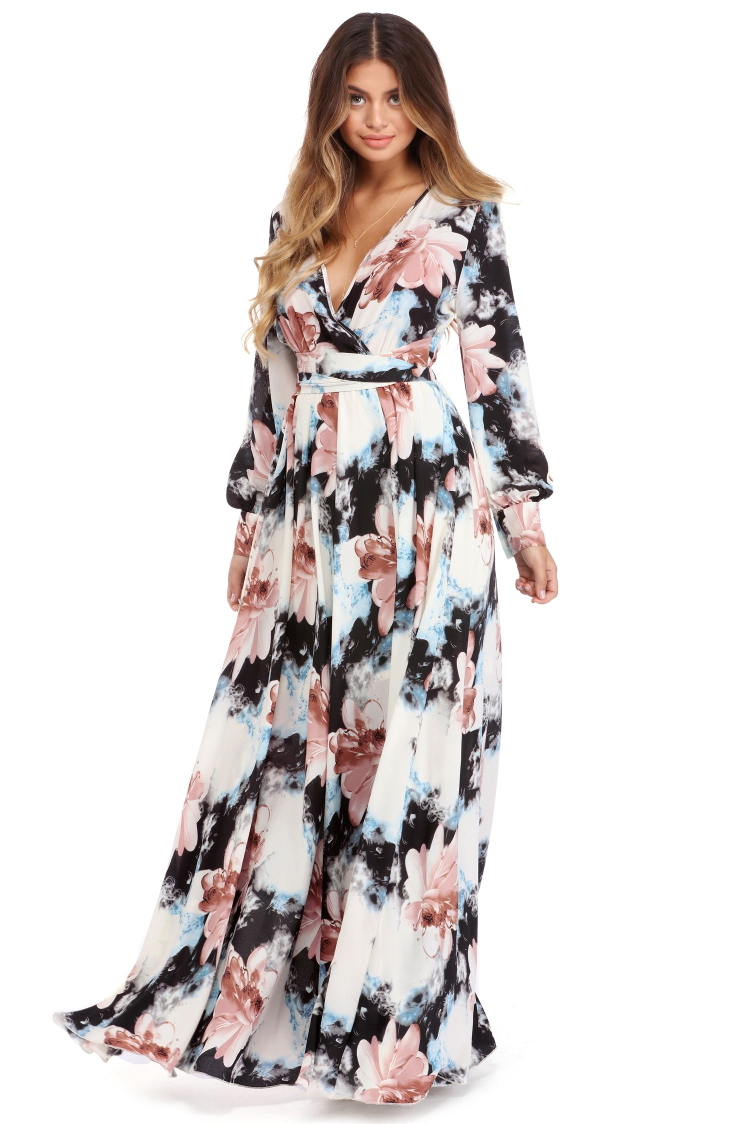 Clara Ivory Floral Infatuation Dress Dresses Curvy Girl Fashion Blush Dresses [ 2247 x 1500 Pixel ]