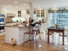 White Kitchen Ideas for a Clean Design   Kitchen Designs - Choose Kitchen Layouts & Remodeling Materials   HGTV