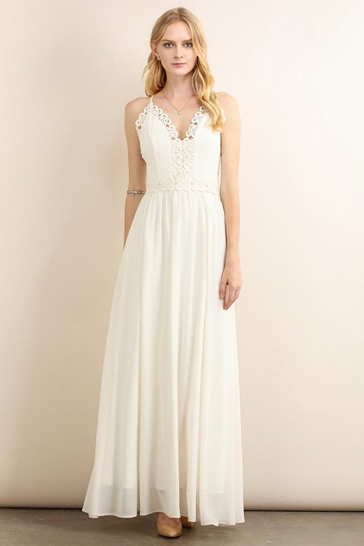 Ivory flower top border line maxi dress tops maxis and flowers