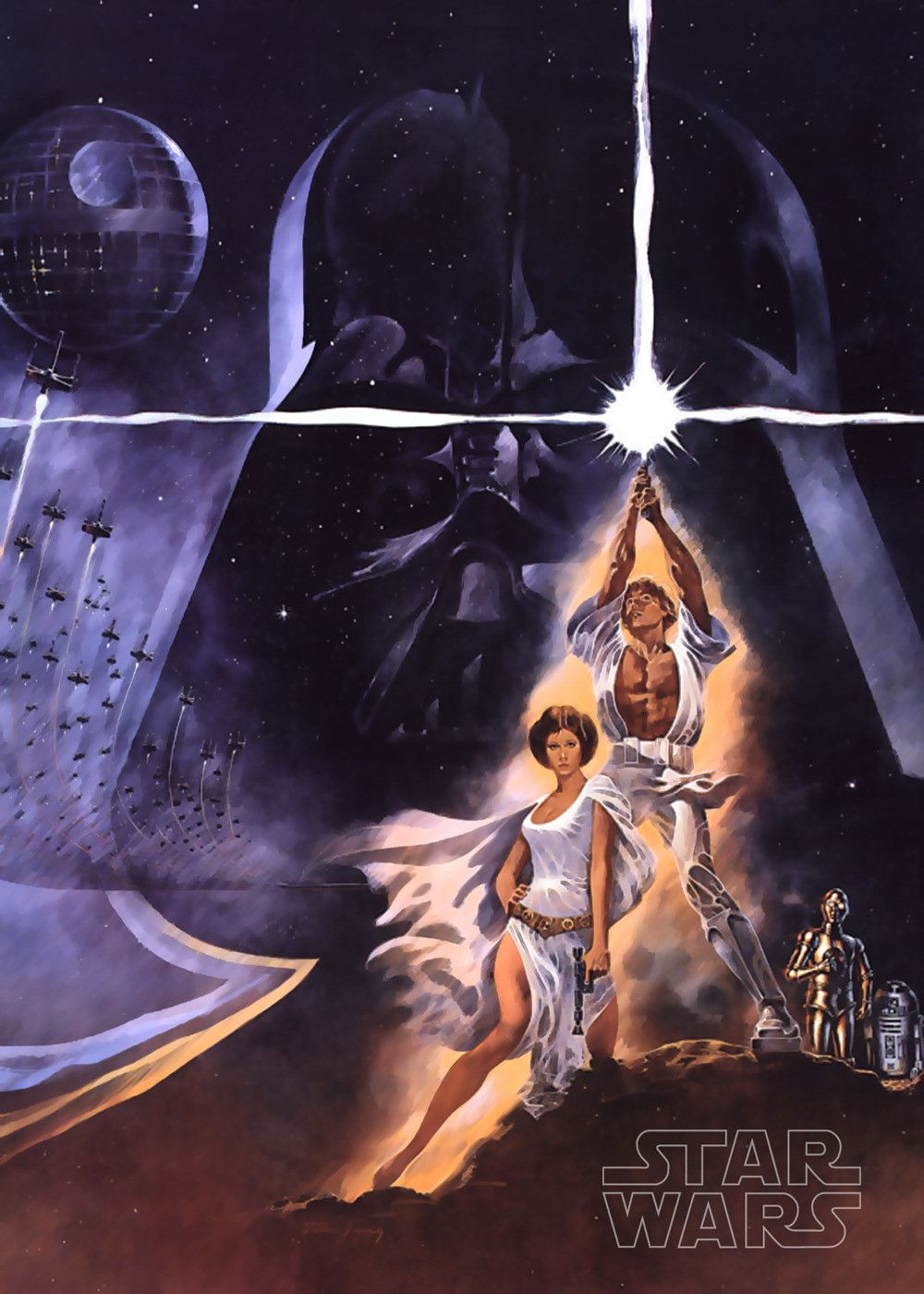 Star Wars Episode Iv A New Hope Star Wars Movies Posters