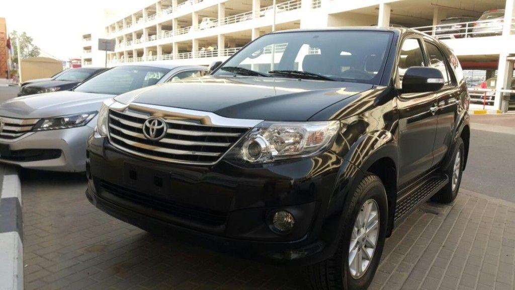 Toyota Fortuner 2012 GCC spec, Black full option Price:50000
