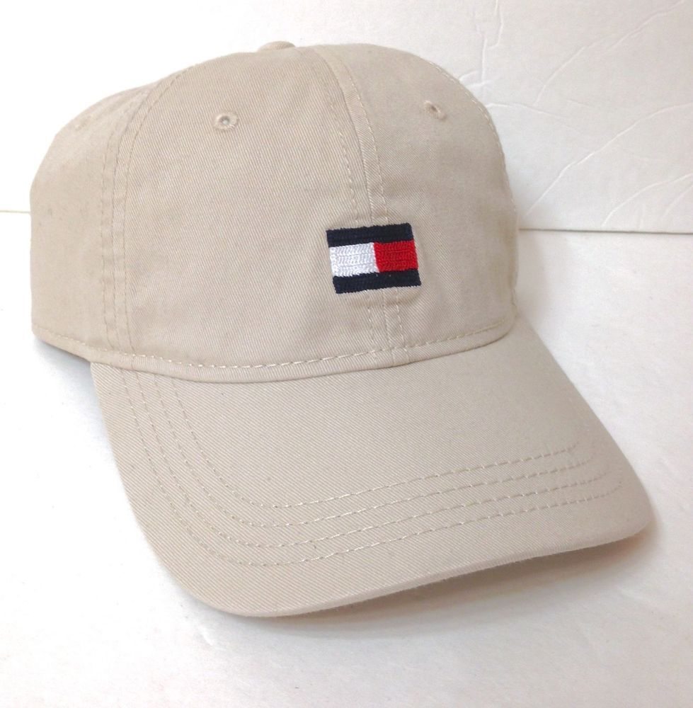 8524b2a6d63 New  26 TOMMY HILFIGER HAT Relaxed Fit Unstructured Dad Khaki Simple  Men Women  TommyHilfiger  BaseballCap