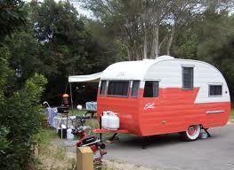 The Weekend Warrior Vintage Campers Trailers Vintage Travel Trailers Small Camping Trailer