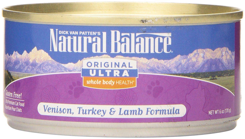 Natural balance canned venisonturkeylamb ultra formula