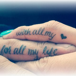 Hand Tattoos By Roze Hernandez On Tattoos Tattoo Quotes Tattoos