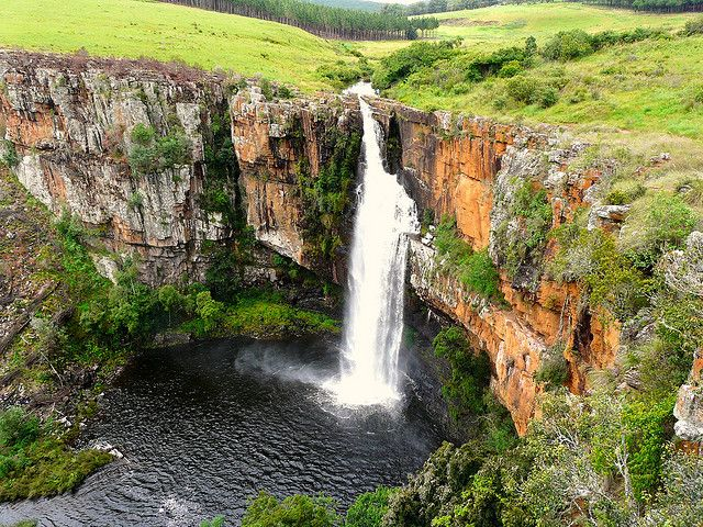 Berlin Falls, South Africa.  I remember swimming in there..awesome memories!