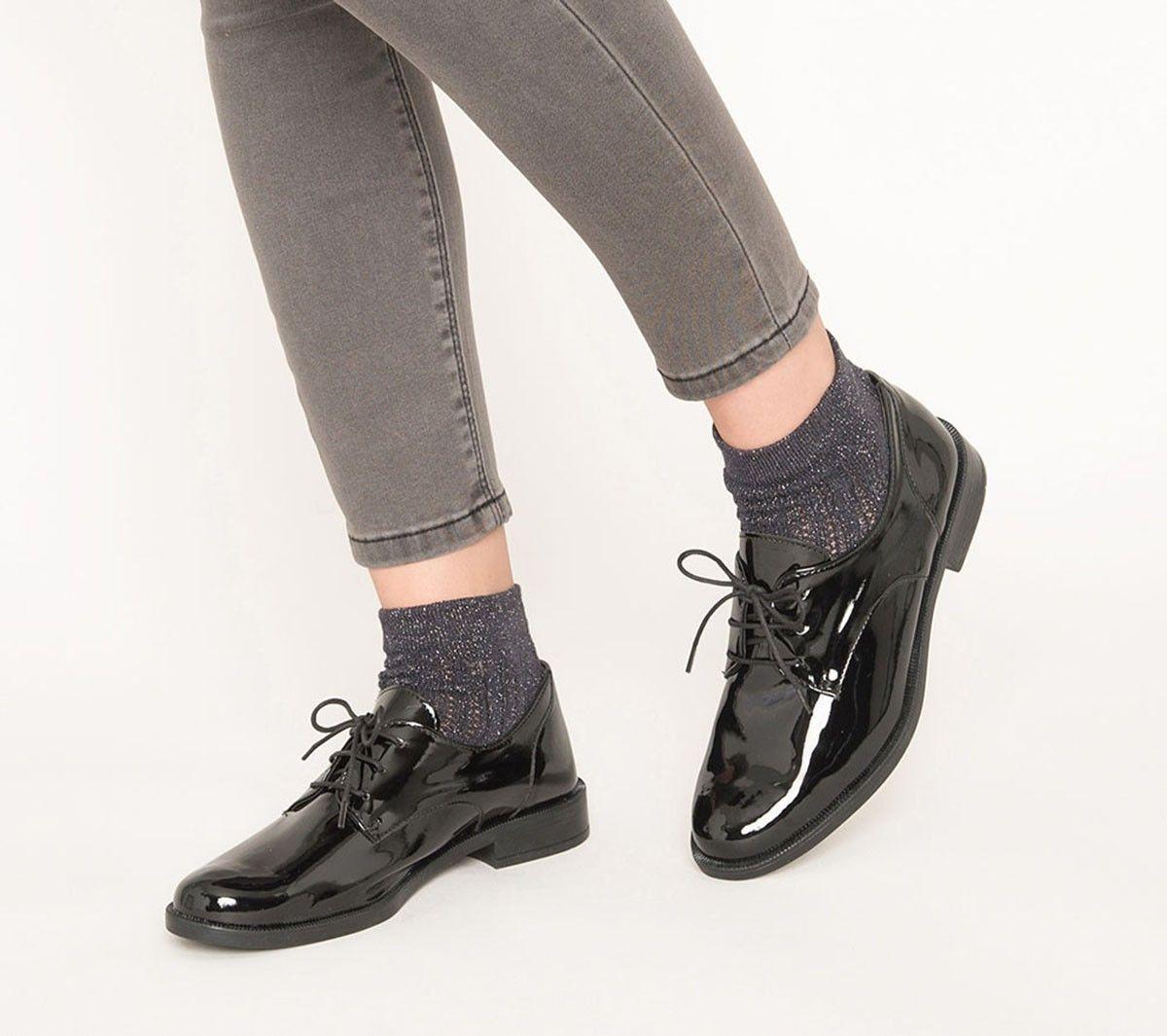 00a5a7603be195 Derby verni noir | Chaussures | Derby vernis, Derby noir et Derby