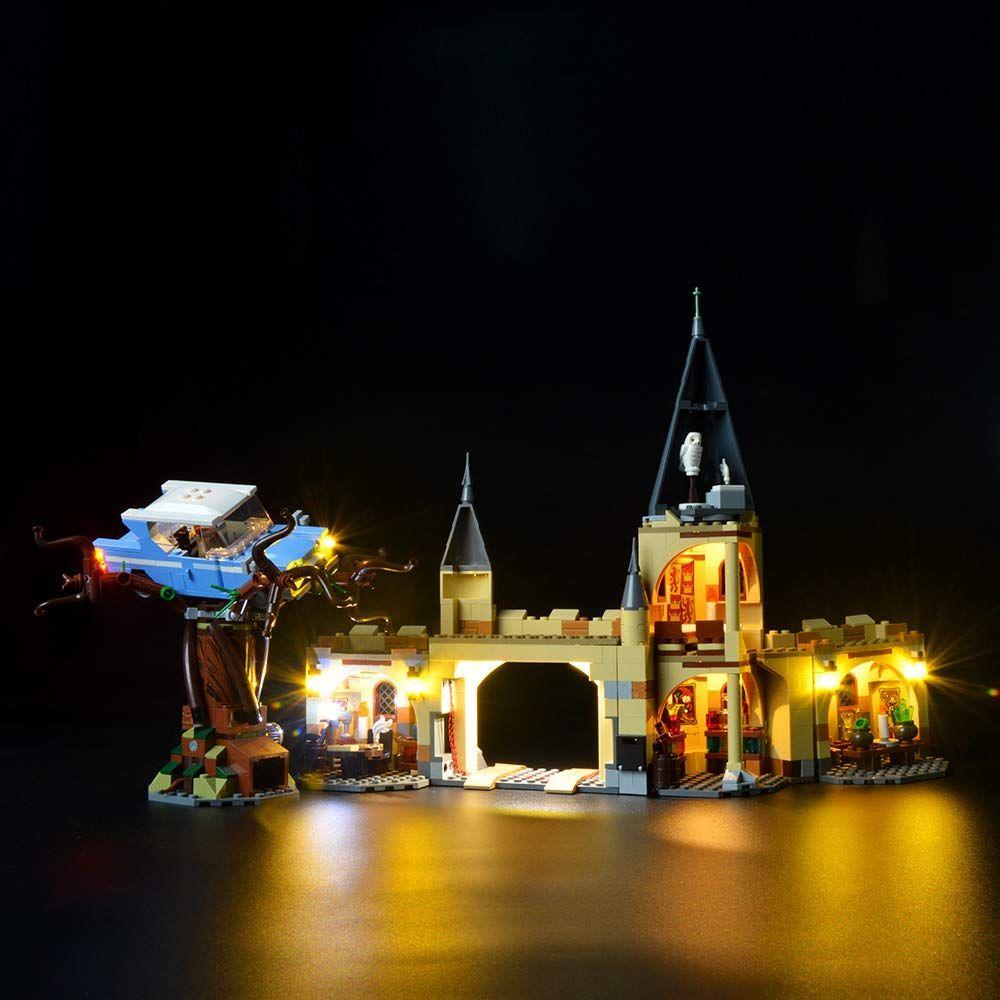 Briksmax Led Beleuchtungsset F R Harry Potter Und Die Kammer Des Schreckens Die Peitschende Weide Von Hogwarts Bauset Kompatibel Mit L In 2020 Hogwarts Sets Peitschen