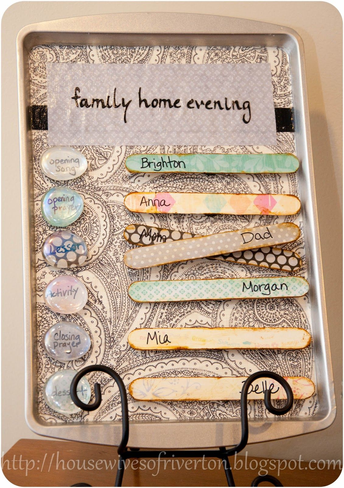 Cookie Sheet Family Home Evening Board Family Home Evening Home And Family Super Saturday Crafts