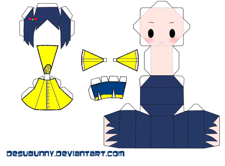 Coraline Papercraft Thủ Cong