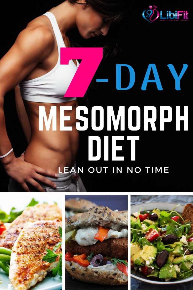 Are A Mesomorph Body Type? Here Is A Great 7-day Diet Plan