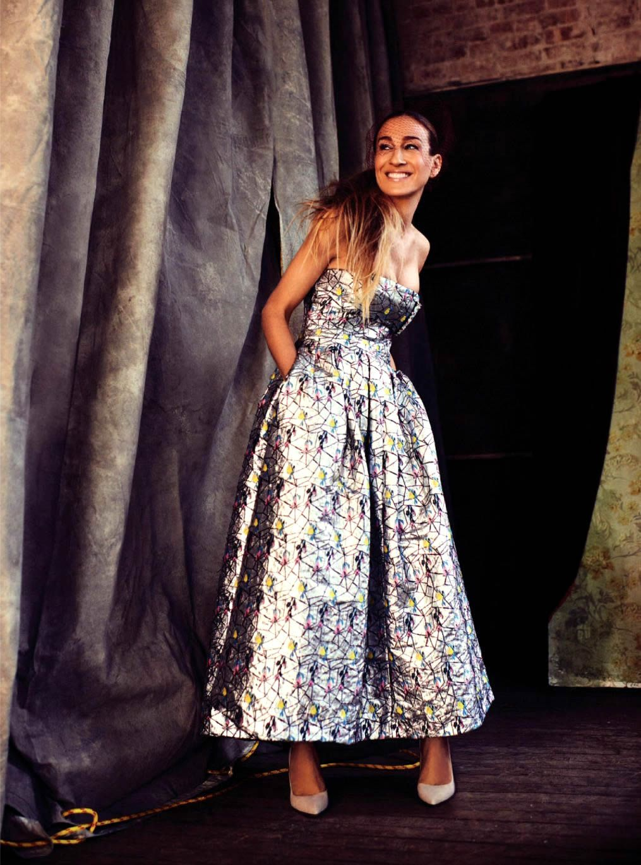☆ Sarah Jessica Parker | Photography by Alexi Lubomirski | For Harper's Bazaar Magazine UK | April 2014 ☆ #Sarah_Jessica_Parker #Alexi_Lubomirski #Harpers_Bazaar #2014