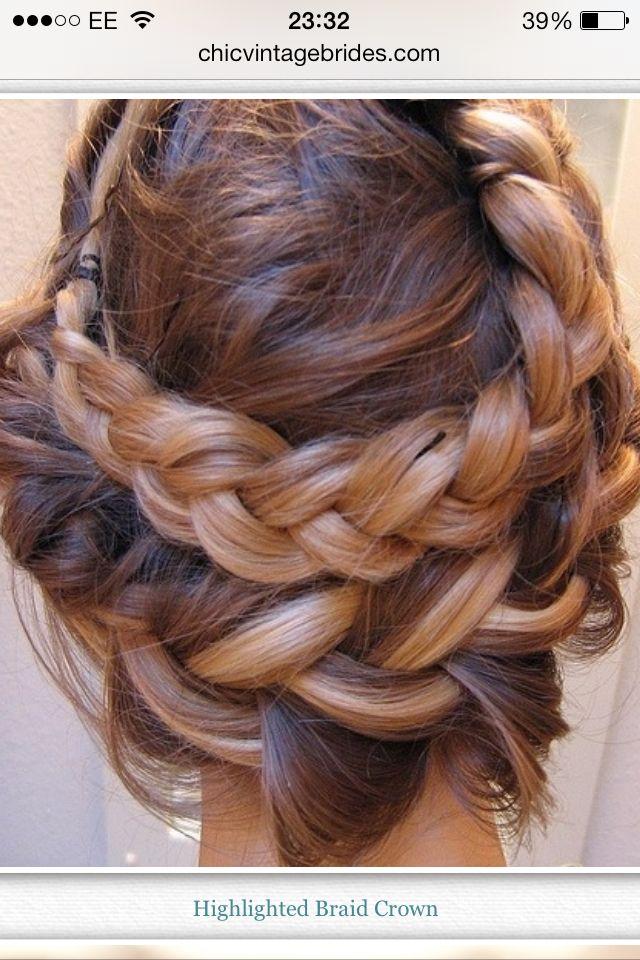 Multi braid up do