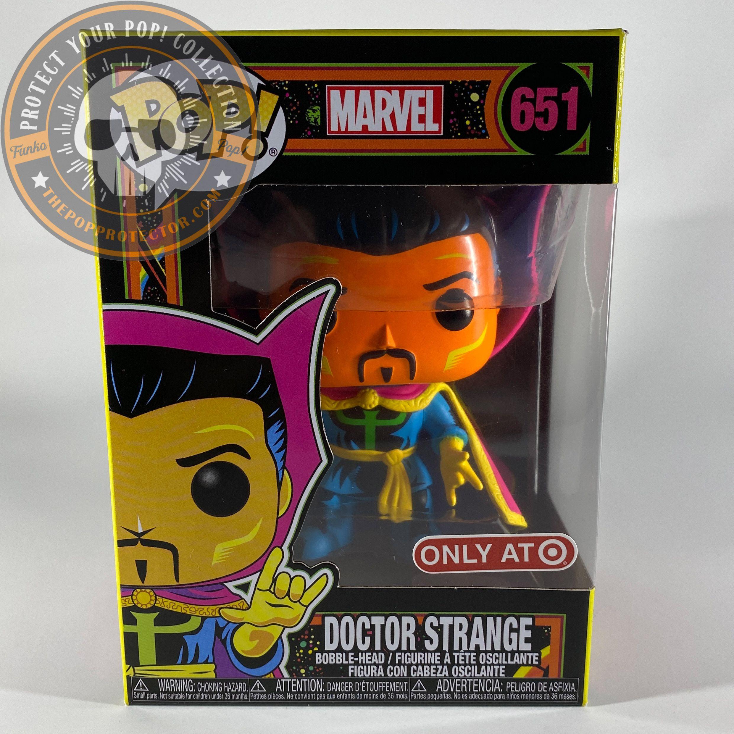 Doctor Strange Black Light Funko Pop Marvel Vinyl Figure