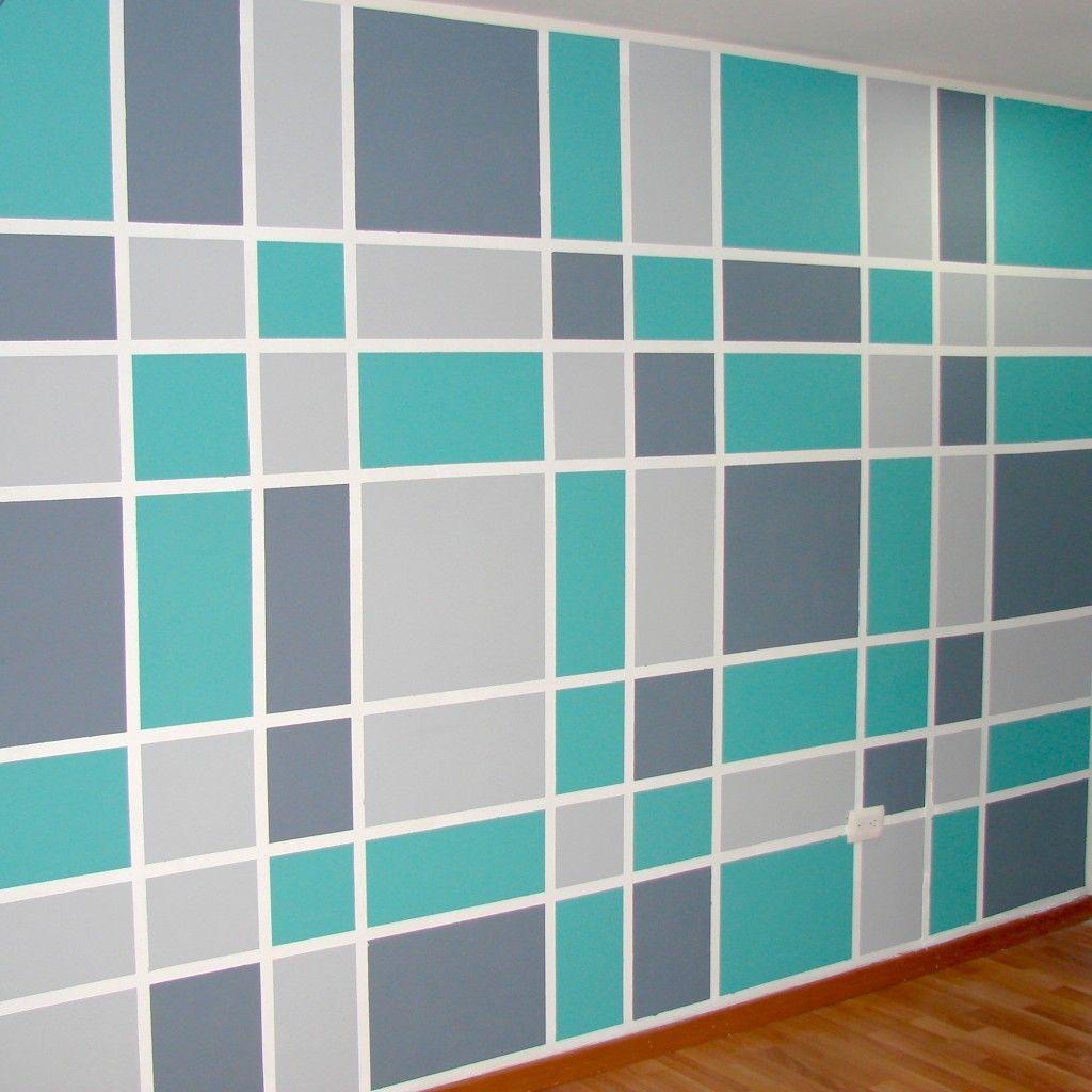 Pintura estilo pinterest pinturas paredes creativas - Estilos de pintura para paredes ...