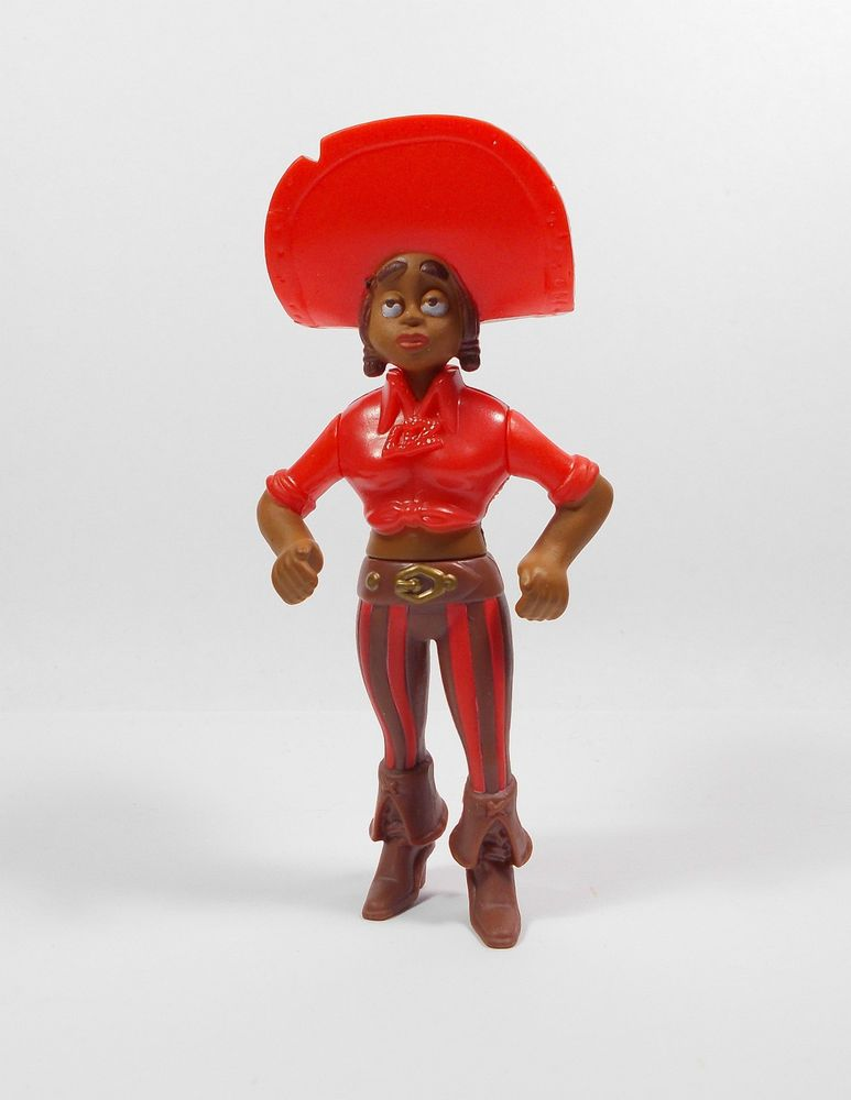 Aardman The Pirates Cutlass Liz Toy Figure Cake Topper 1 Toy Figures Pirates Figures