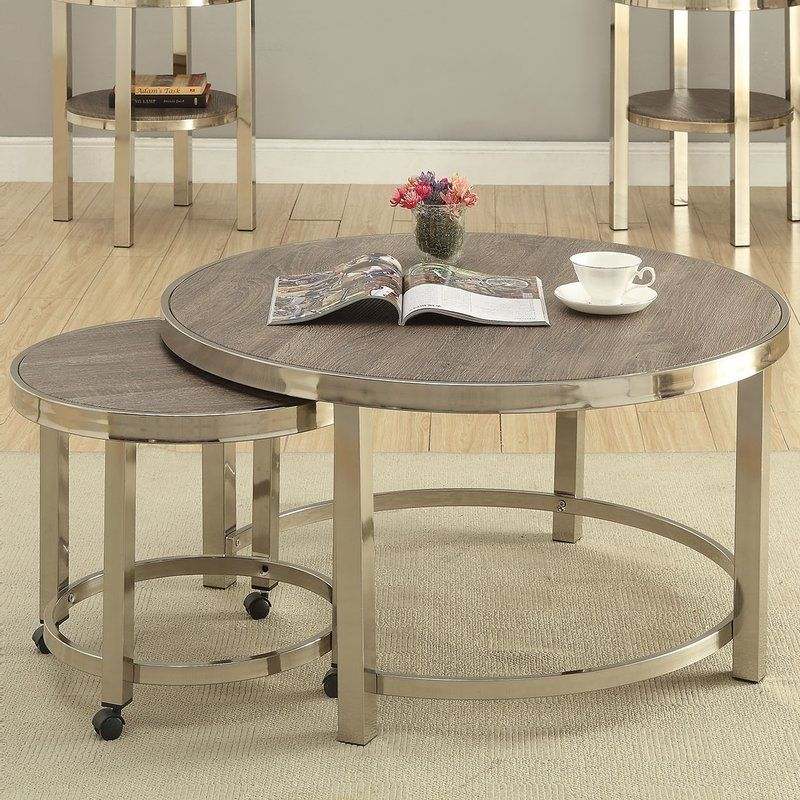 elwyn 2 piece coffee table set  living room table sets 3