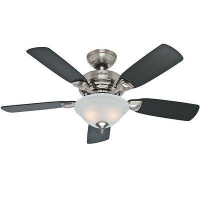 """Hunter Fans 44"""" Caraway 5 Blade Ceiling Fan"""