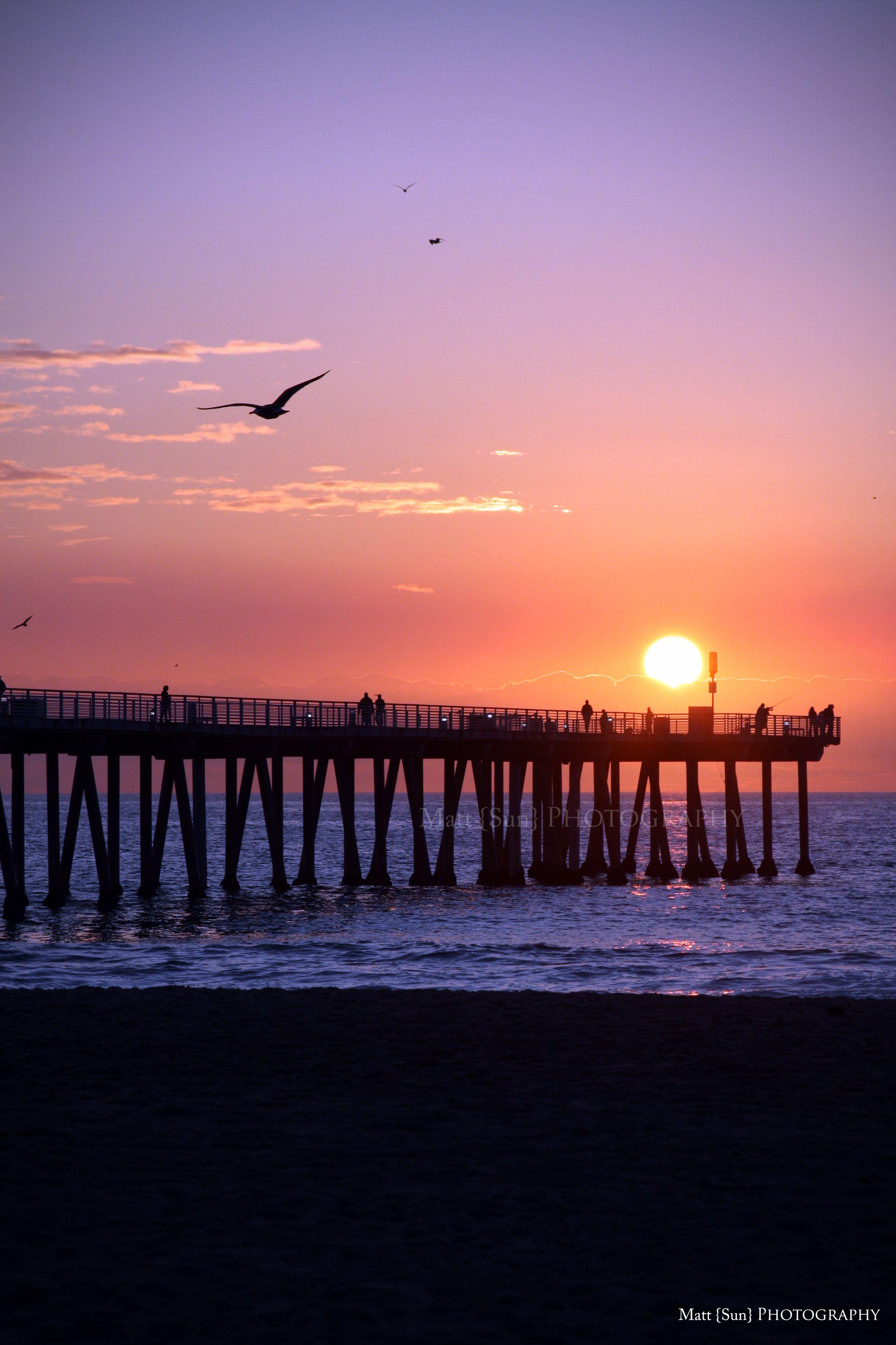 Sunset - Hermosa Beach, California - Explore the World with Travel ...