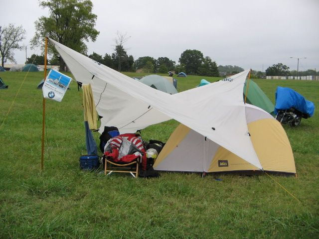 Kelty Noah tarp used as tent vestibule : used backpacking tents - memphite.com