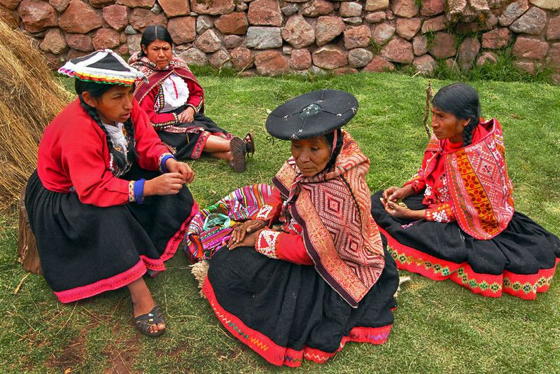 Indigenous Quechua Women in the Sacred Valley of Peru Create Hand-loomed Products at Awana Kancha Weavers