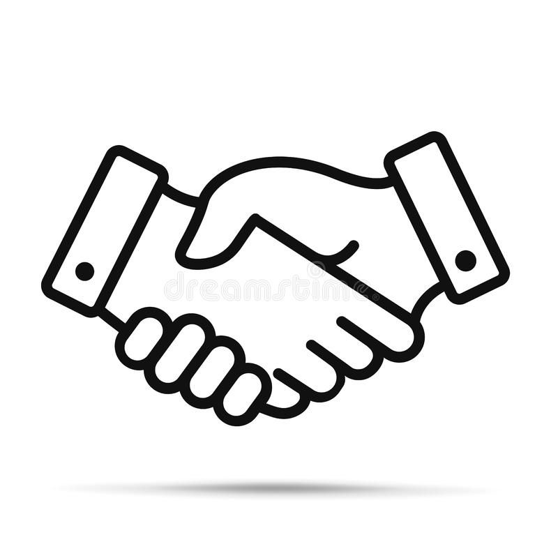 Handshake Icon Shaking Hands Is A Symbol Of Greeting And Business Partnership Sponsored Paid Ad Icon Hands Busines Hand Symbols Symbols Hands Icon