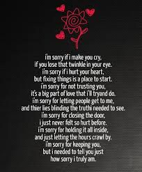 Image result for How to say I am sorry please forgive me ...