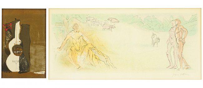 Jacques Villon (French, 1875-1963) 2e Bucolique: le bel : Lot 1706162