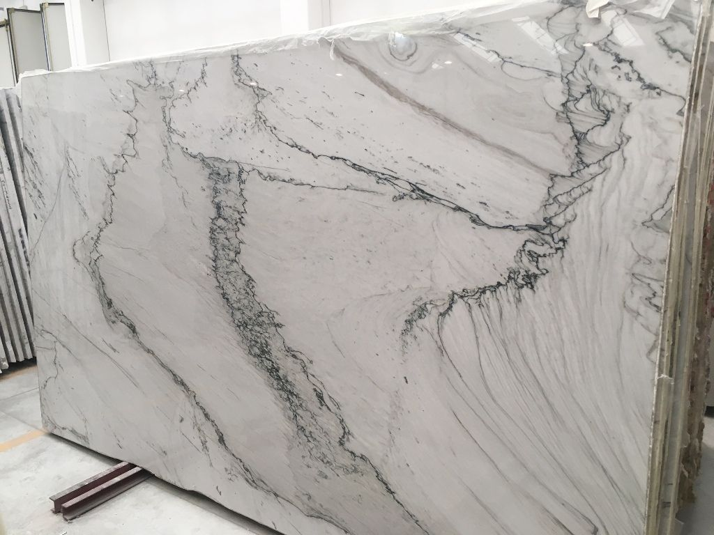 Opus White Slab Have A Look At Website Or Visit One Of Our Showrooms In Staten Island Ny Or Co White Quartzite Kitchen Granite Quartz Countertops Countertops