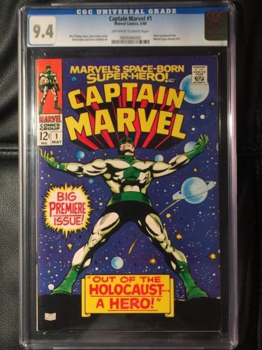 archived! $ 438 | Captain Marvel #1 Cgc 9.4 Marvel 1968!. #comics #marvel https://t.co/osR2vVynfO https://t.co/2eK8xHcMEG